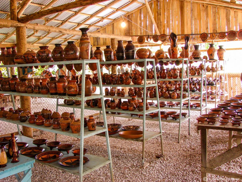 Chorotega pottery