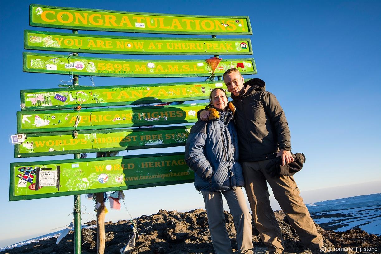Kibo, Uhuru summit (19,341')