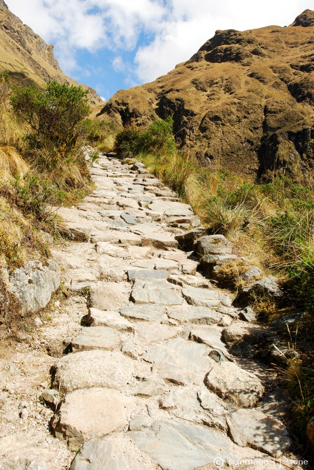 Original Inca path