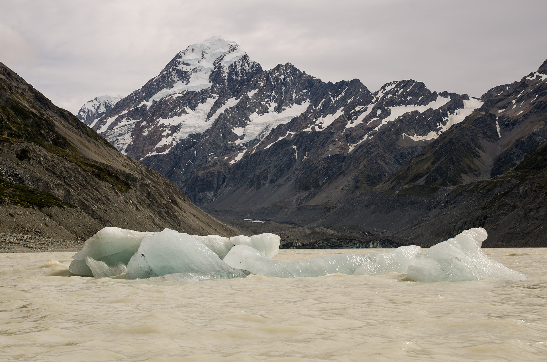 Mt. Cook & Hooker Lake