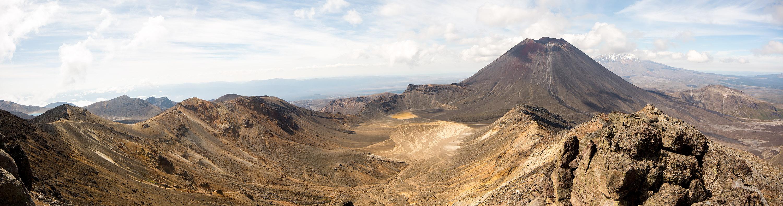 From Tongariro Summit