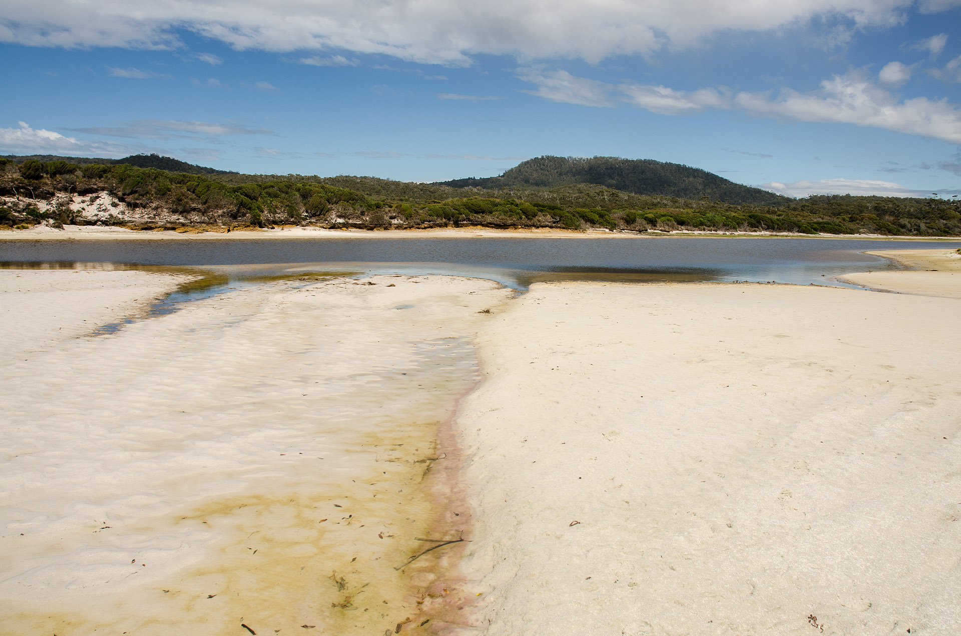 Saltwater lagoon