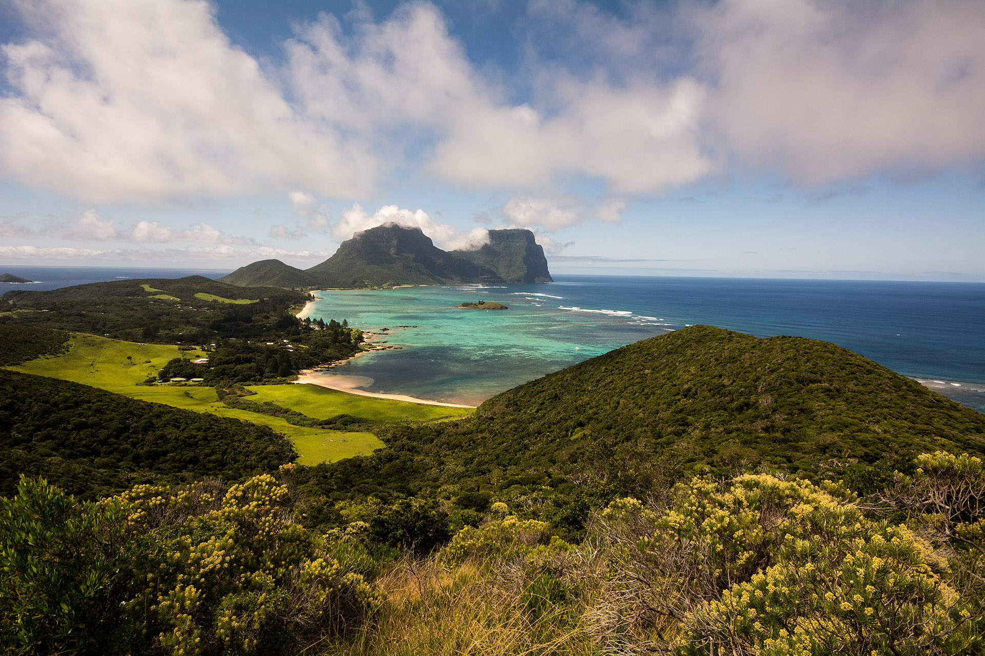 Lord Howe from Malabar Hill