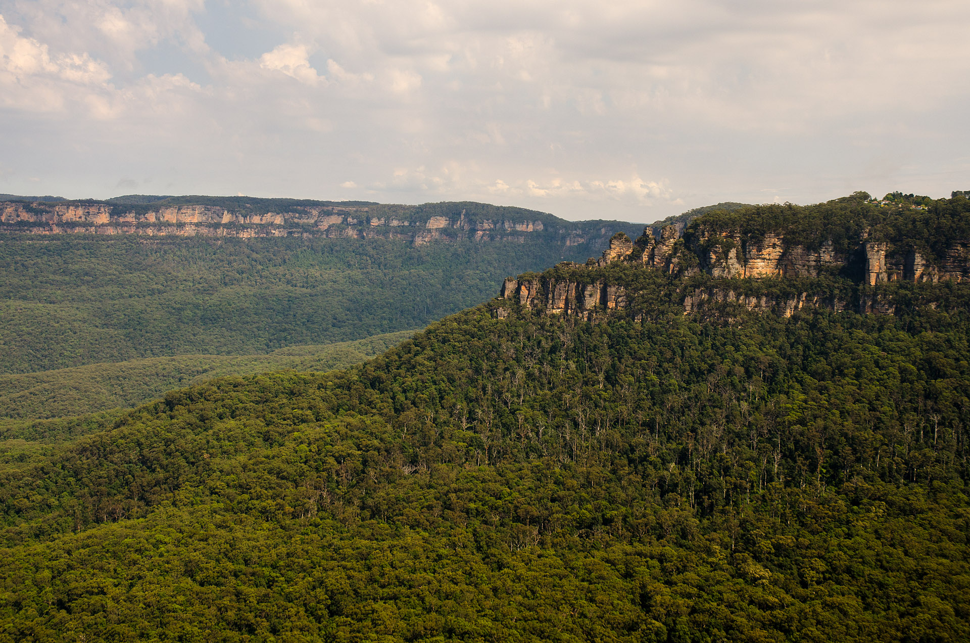 Three Sisters from Sublime Lookout