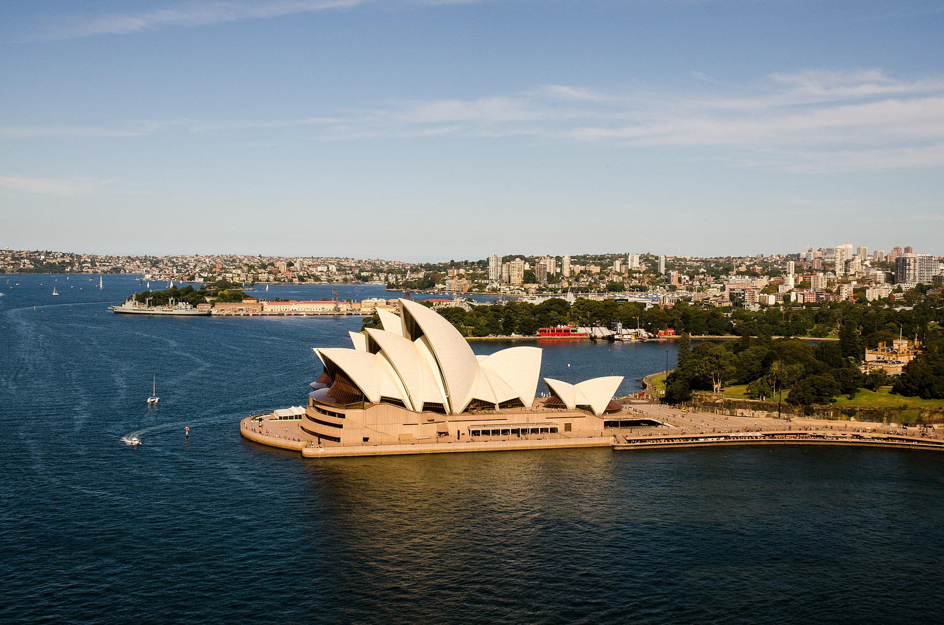 Sydney Harbour, Royal Botanic Gardens & Government House