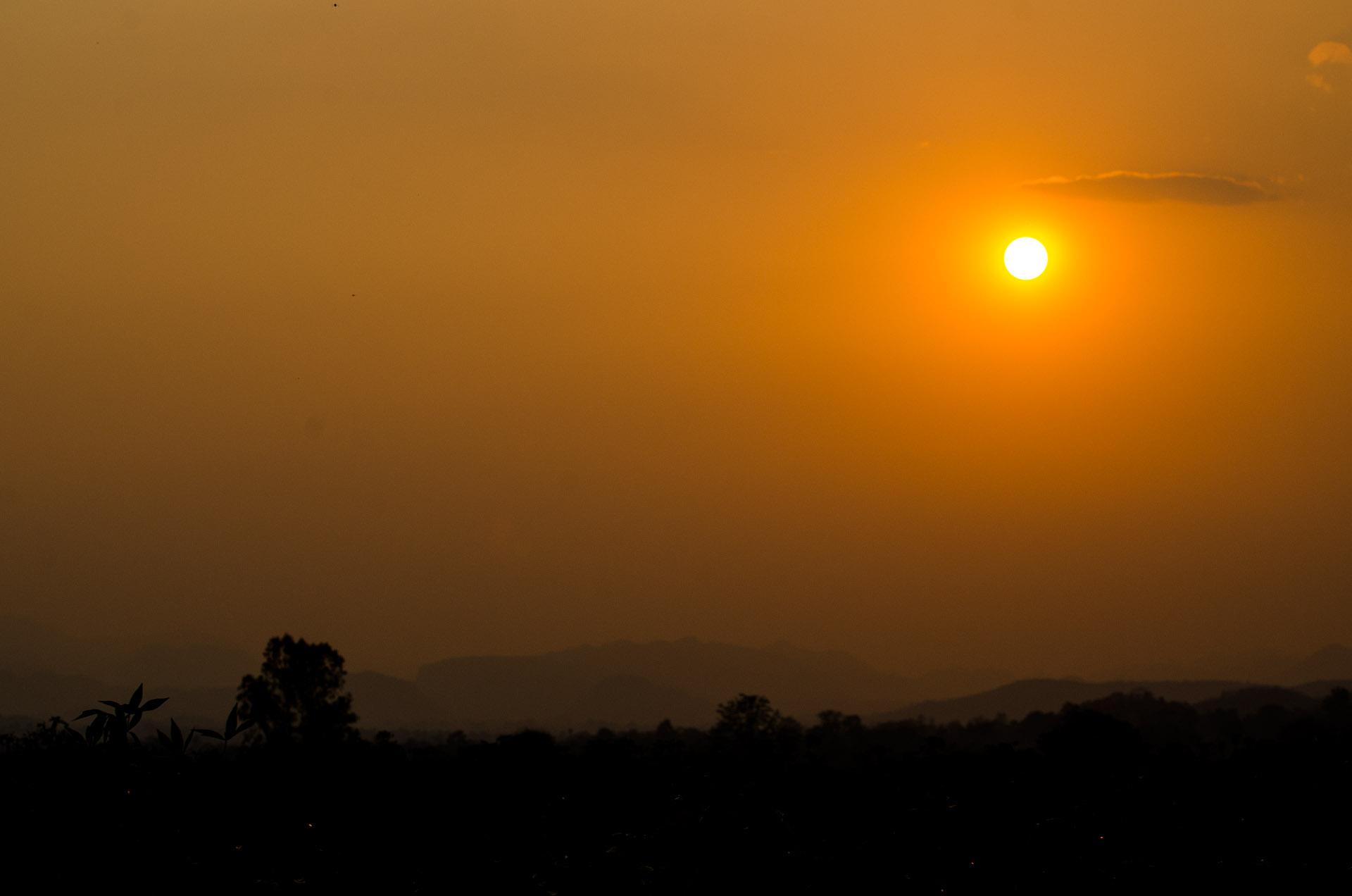 Pak Chong sunset