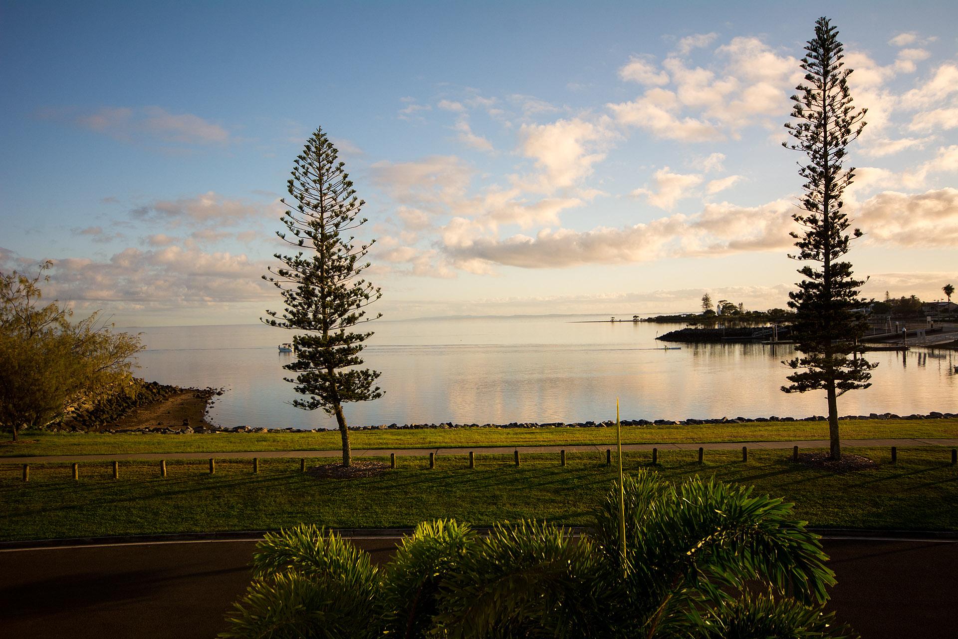 Raby Bay sunrise