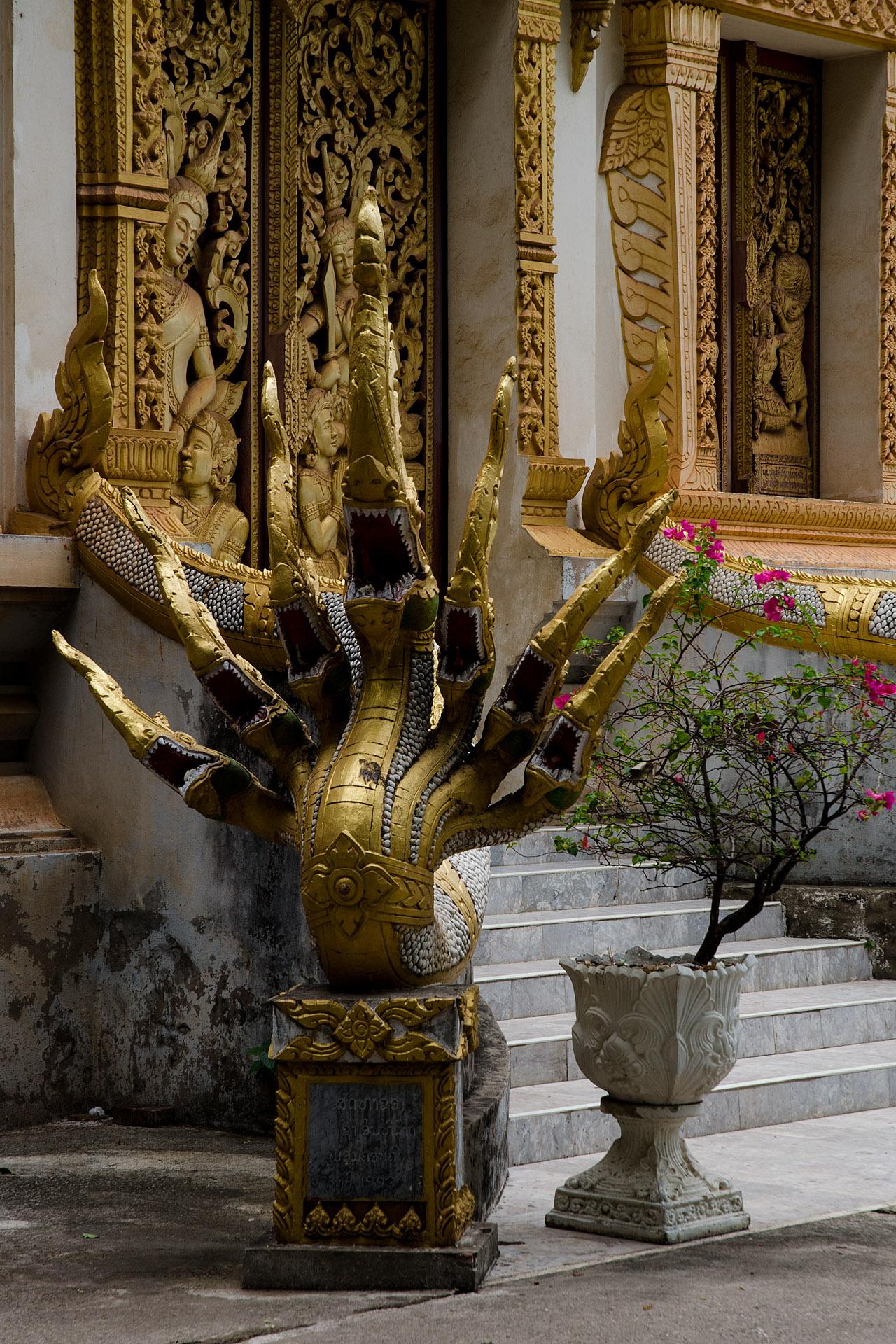 Naga at Wat Haysok
