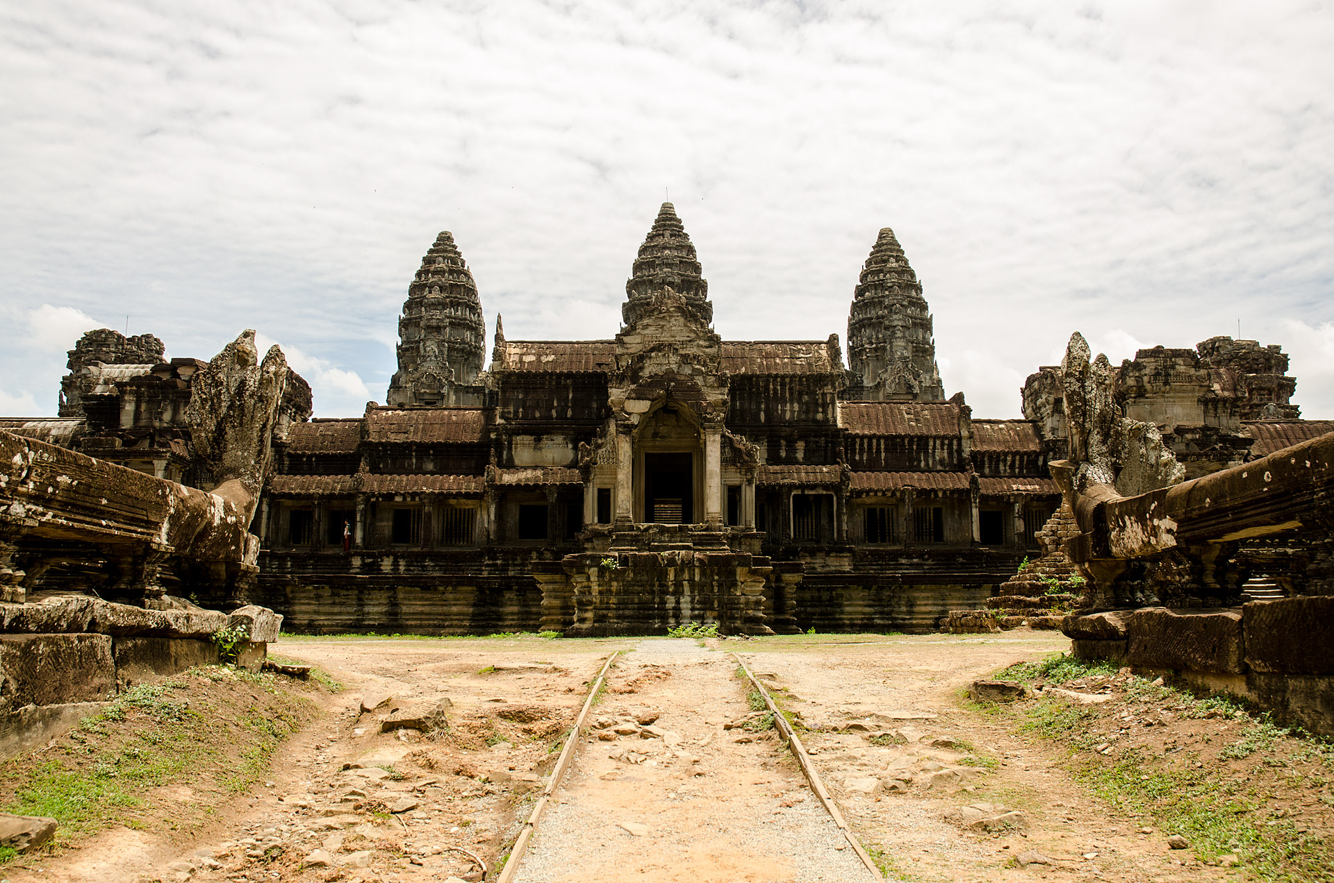 Angkor Wat from east gate