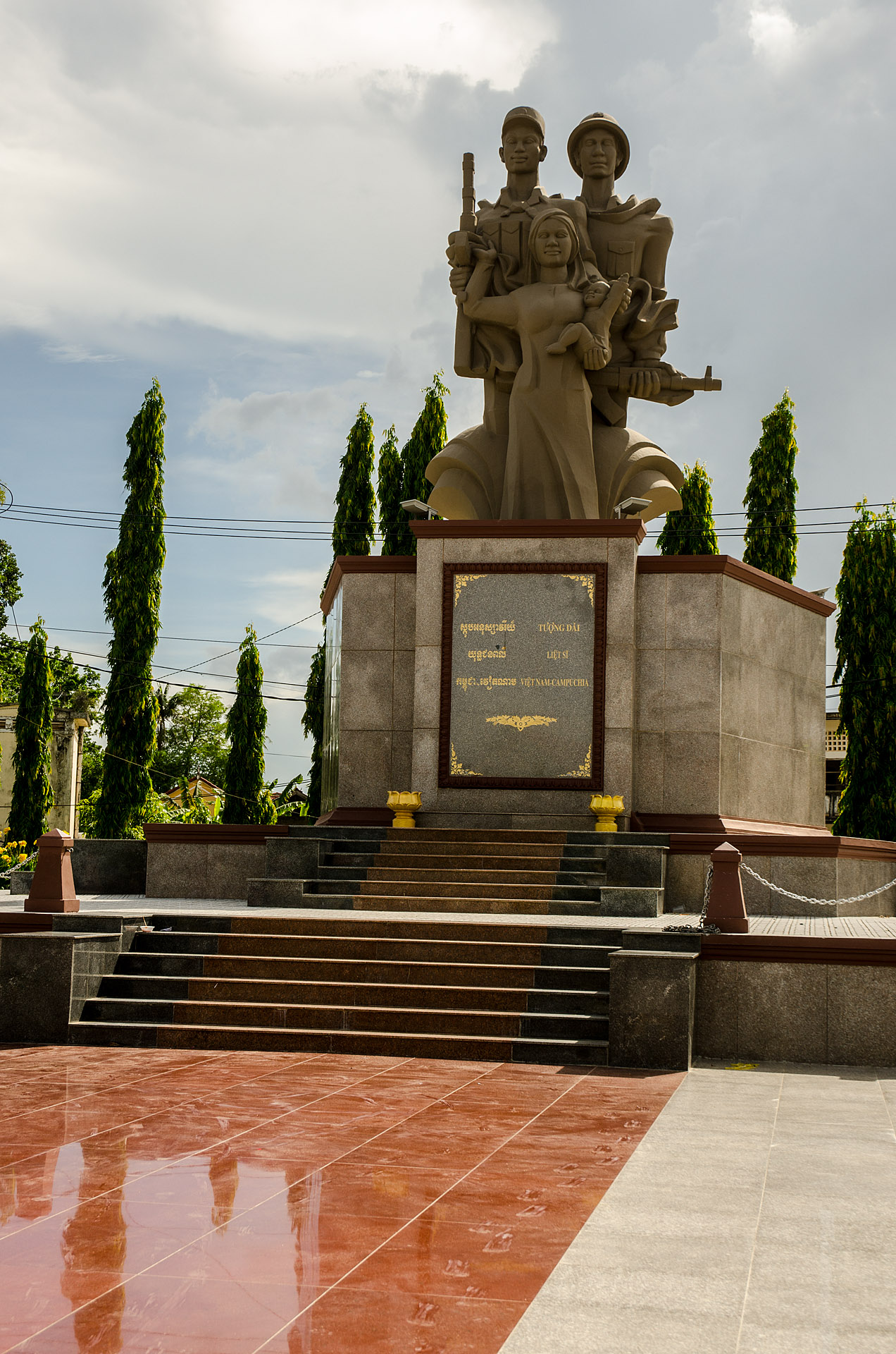 Cambodia-Vietnam Friendship Statue