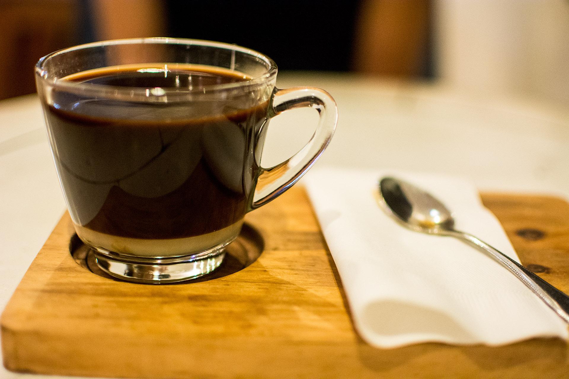 Lao coffee (Indigo Cafe)