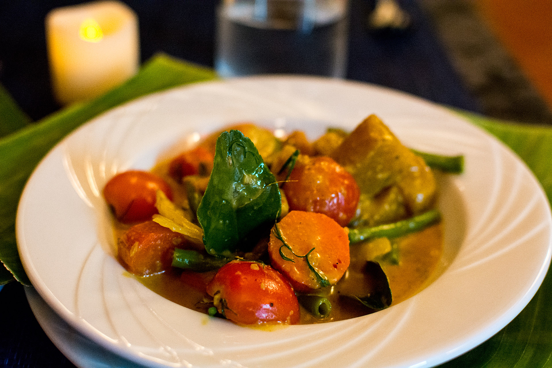 Vegetable curry (Cafe Toui)