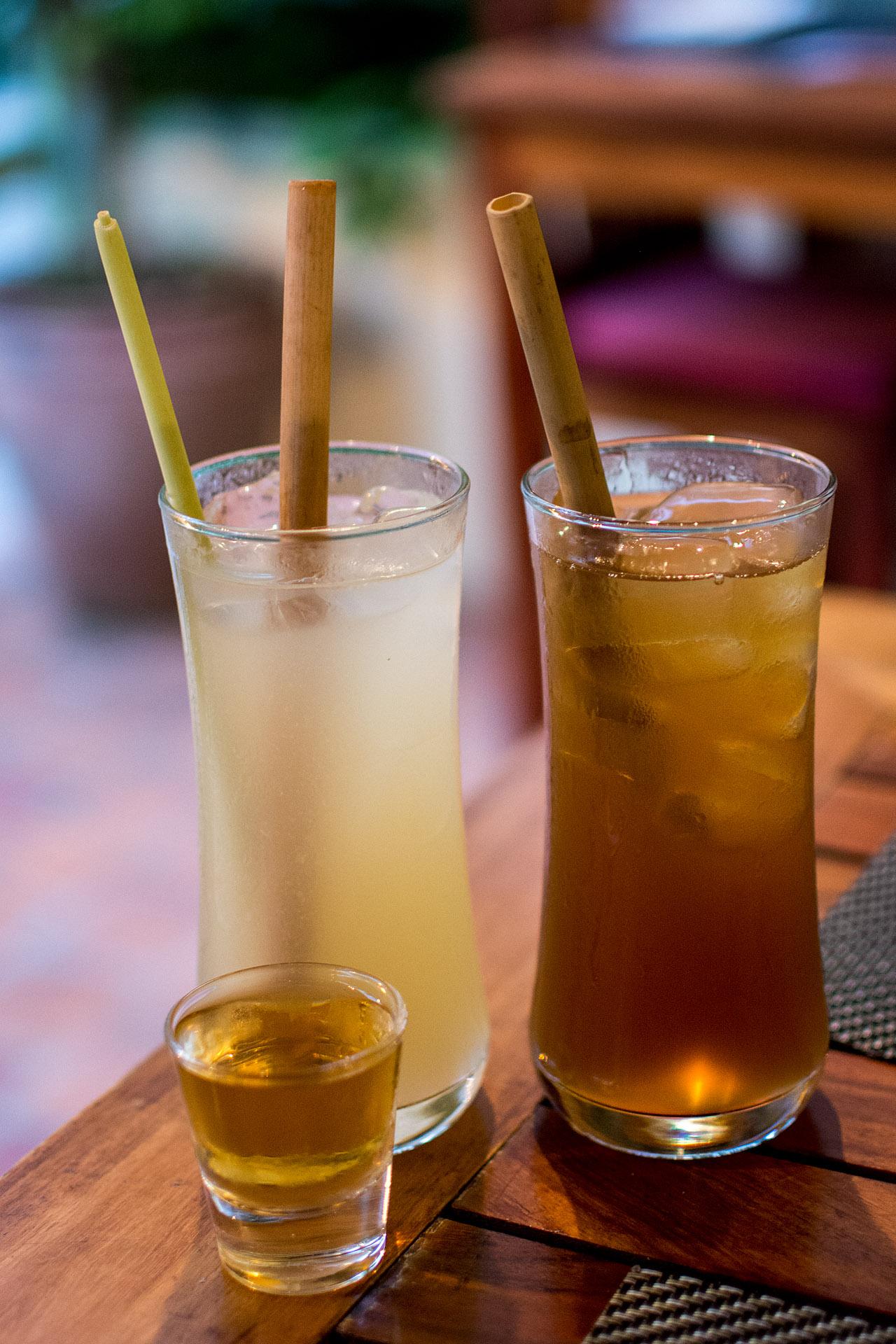 Tamarind juice, lemongrass & lime juice, chili-infused Lao whisky (Tamarind)