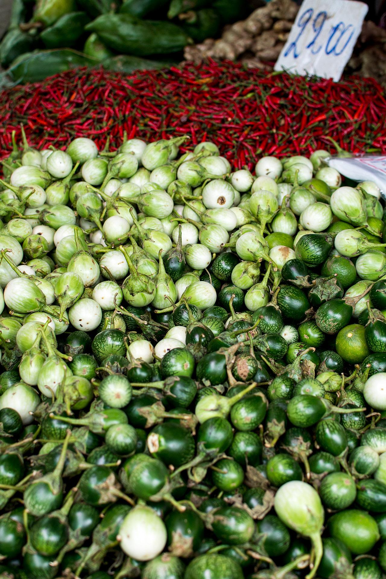 Thai eggplant & chilies