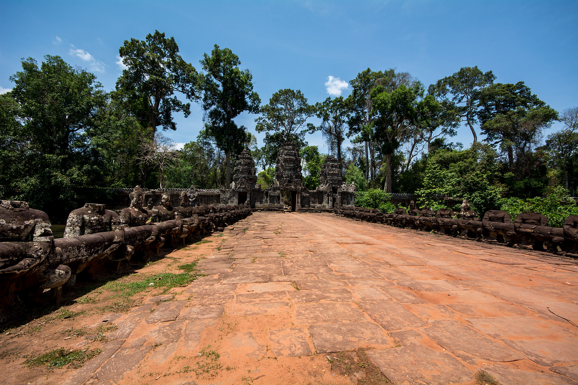 Gopura at Preah Khan