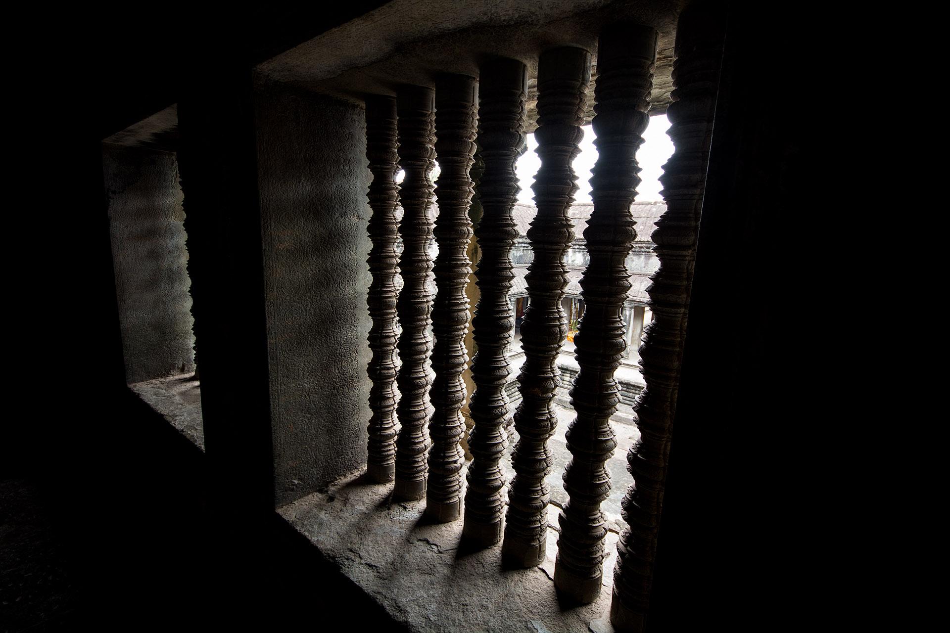 Cruciform cloister