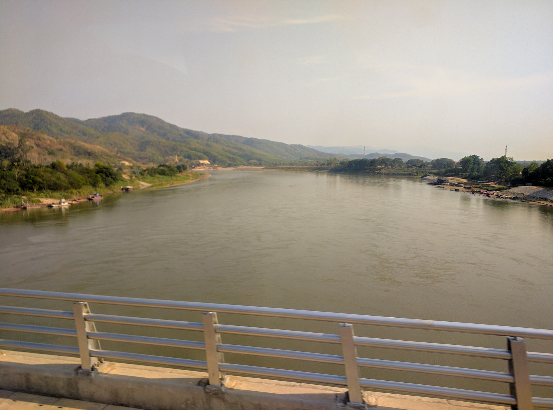 Friendship Bridge (Thailand-Laos)