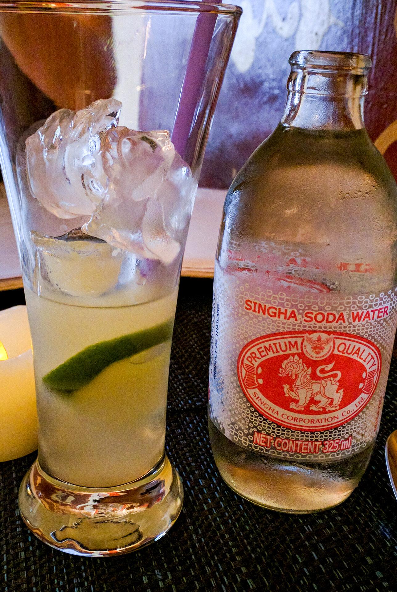 Fresh lime soda (Cafe Toui)