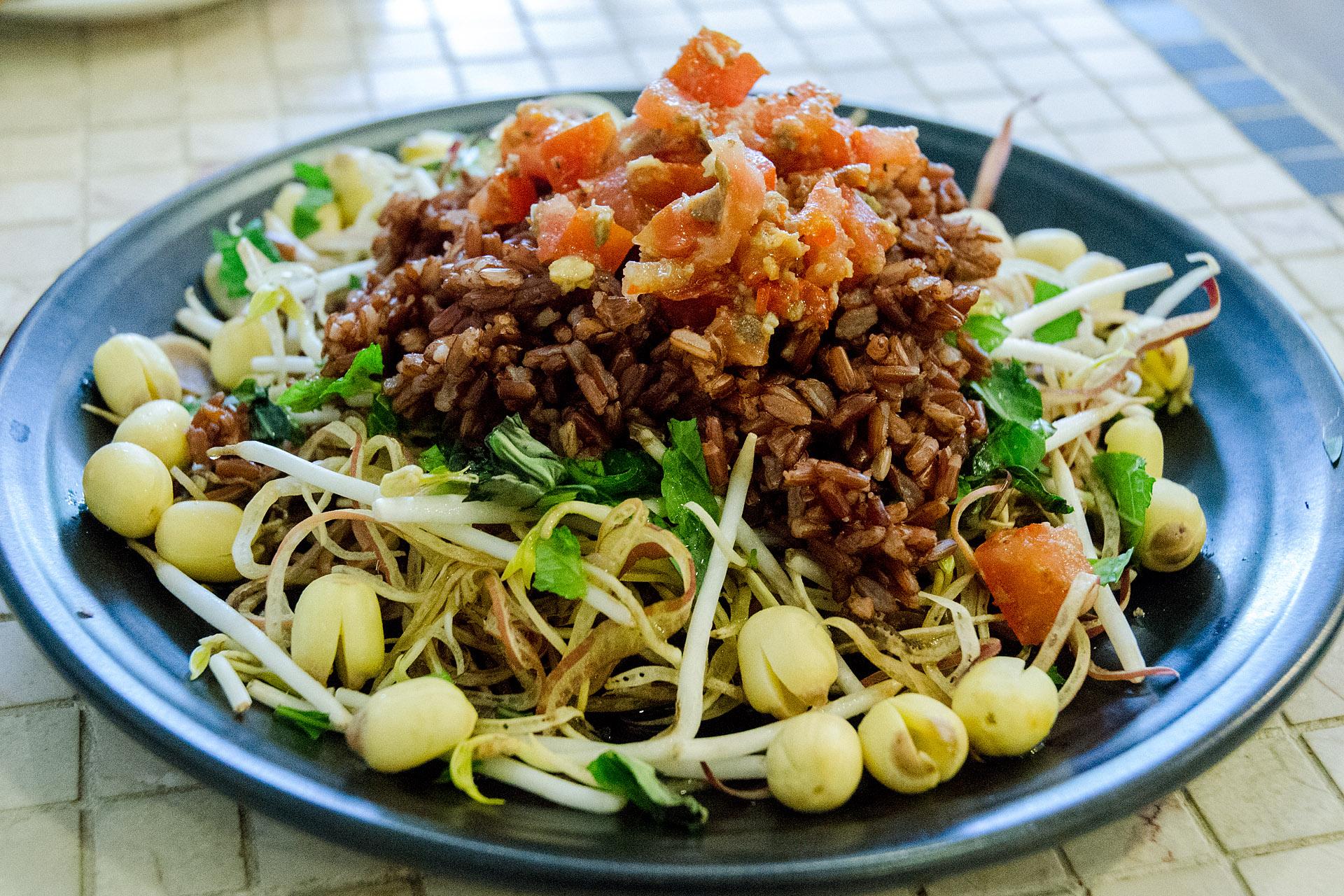 Lotus seed rice