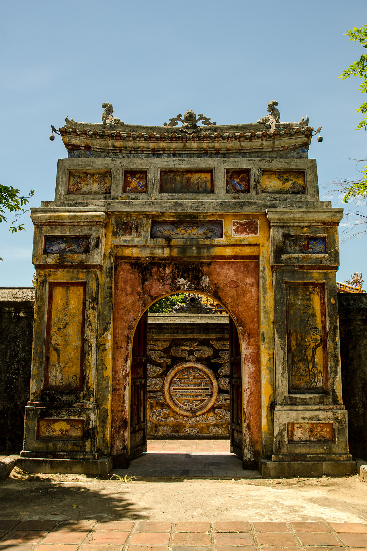 Gate to Dien Tho Residence