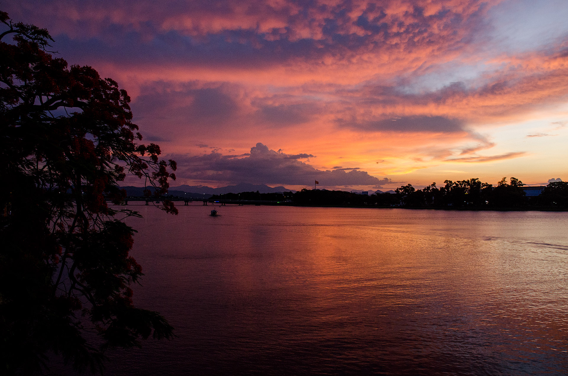 Perfume River sunset