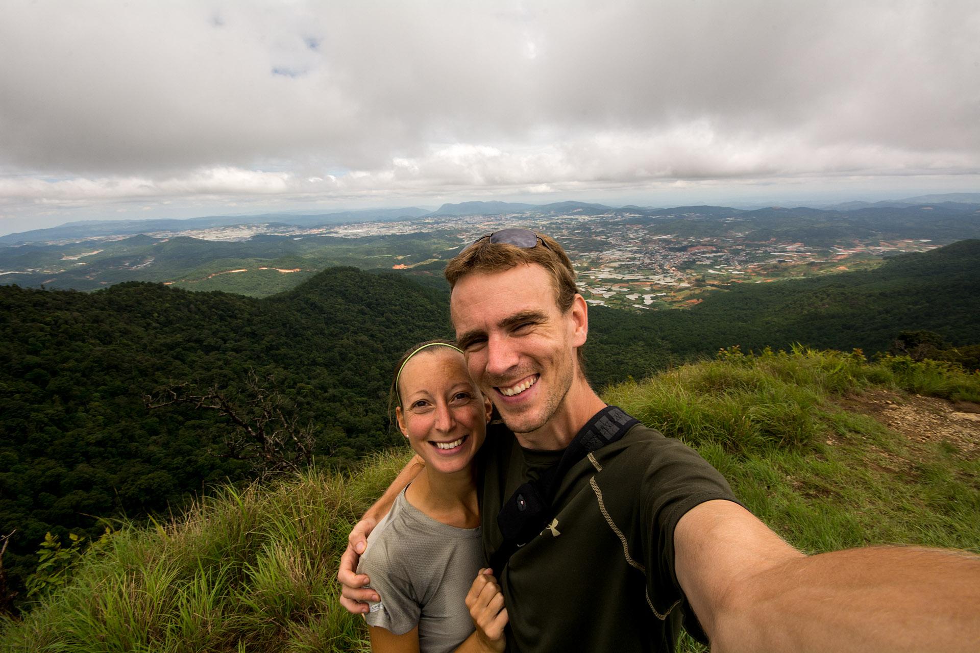 Lang Biang summit (7,110 feet)
