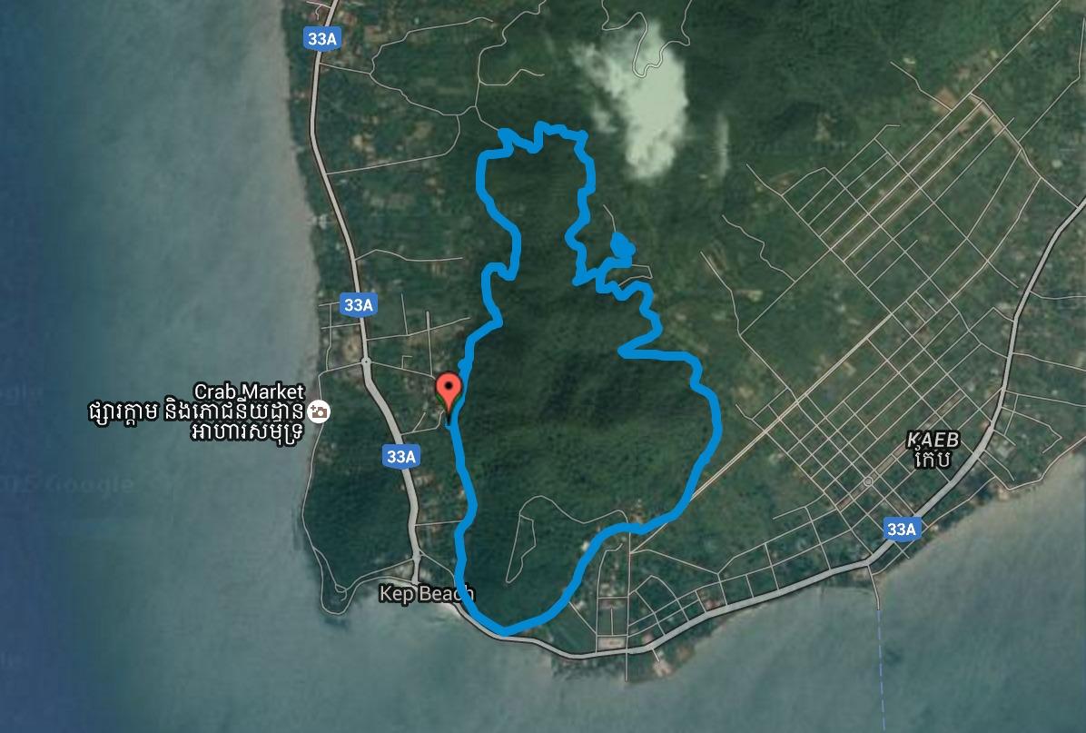 Kep National Park - Satellite