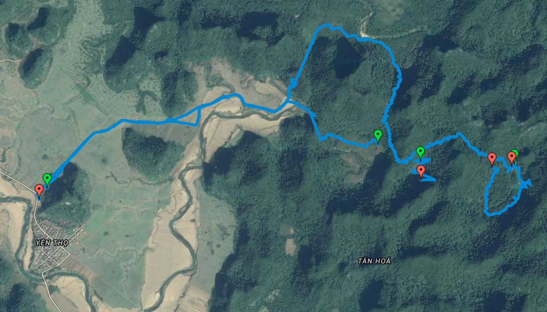 Phong Nha Caving - Satellite