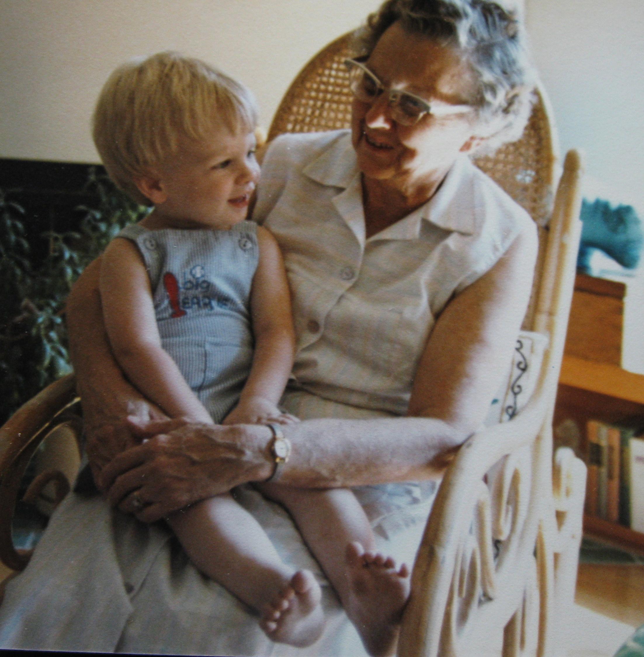 Stephan & Grandma Chase