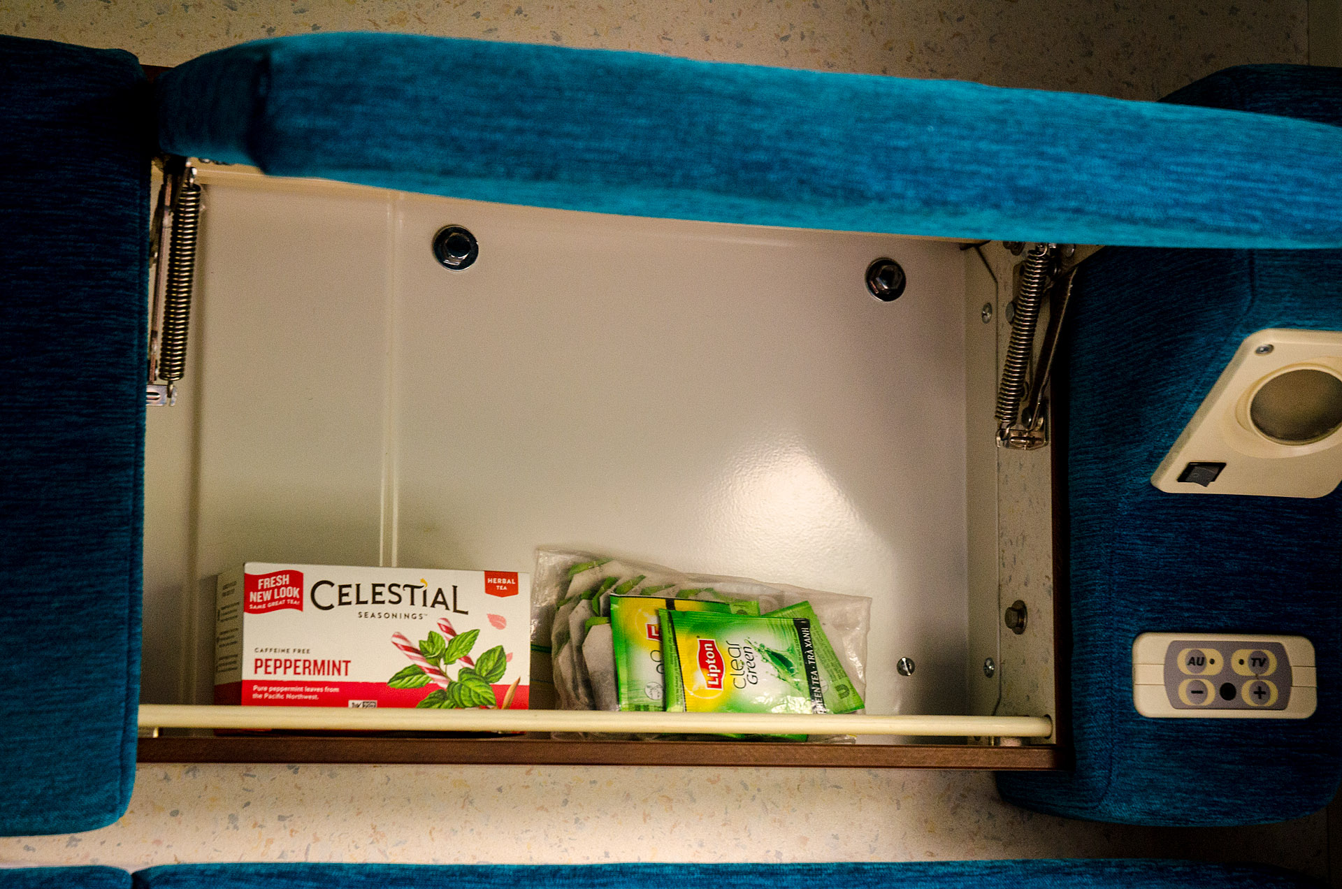 Jenn's special tea compartment