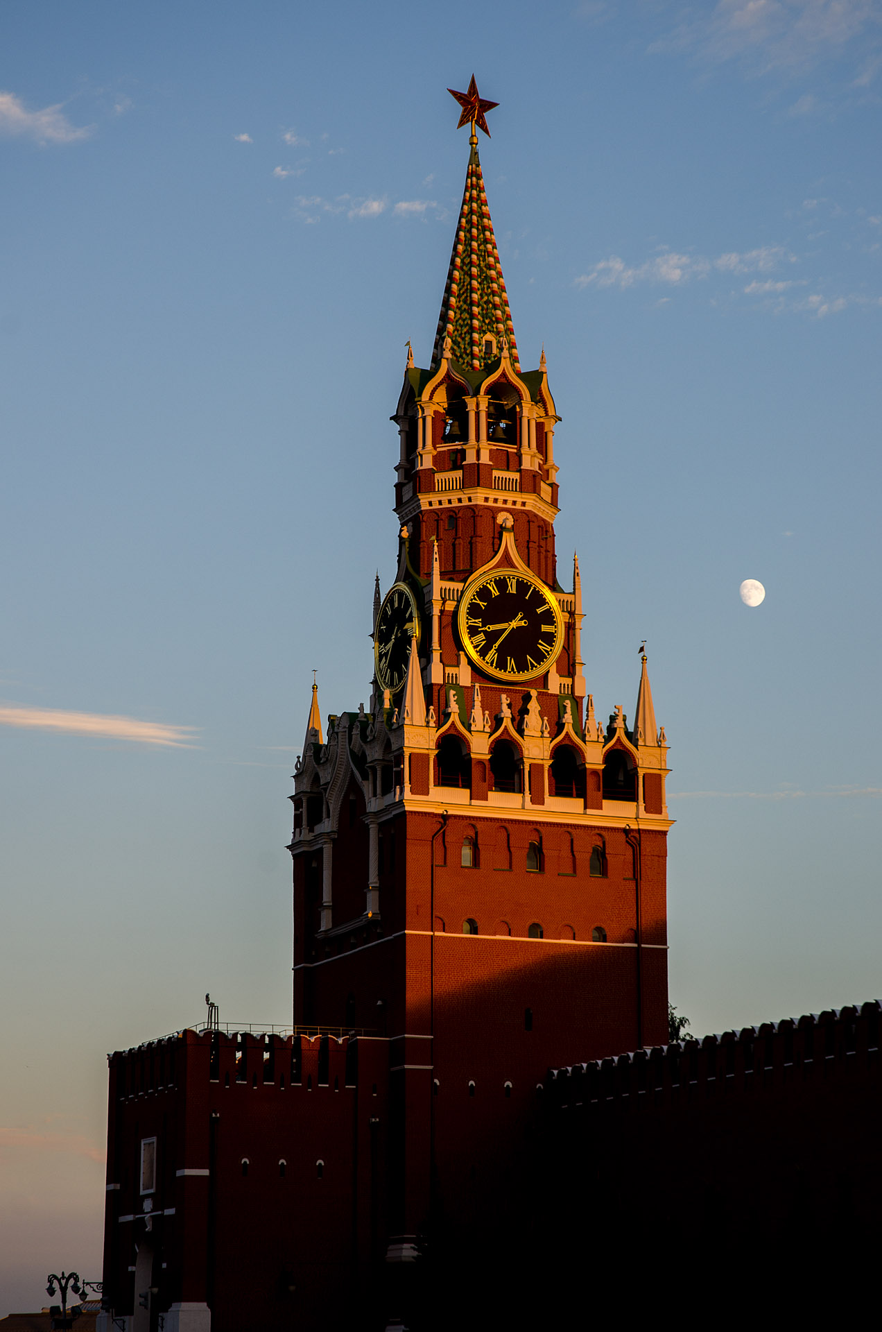 Spasskaya Tower (Savior Tower), Kremlin