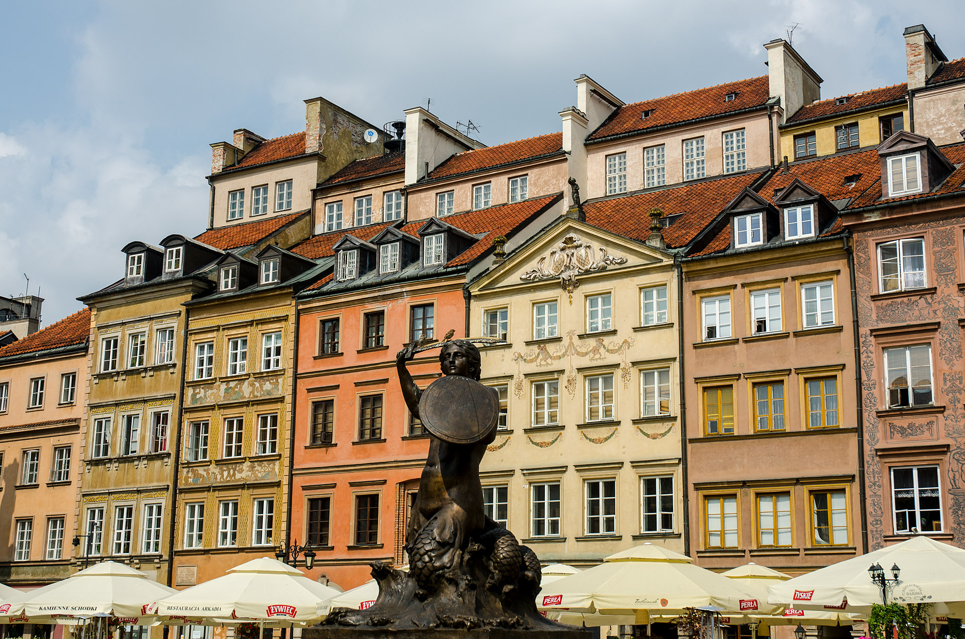 The Mermaid of Warsaw (Old Town Market Place)
