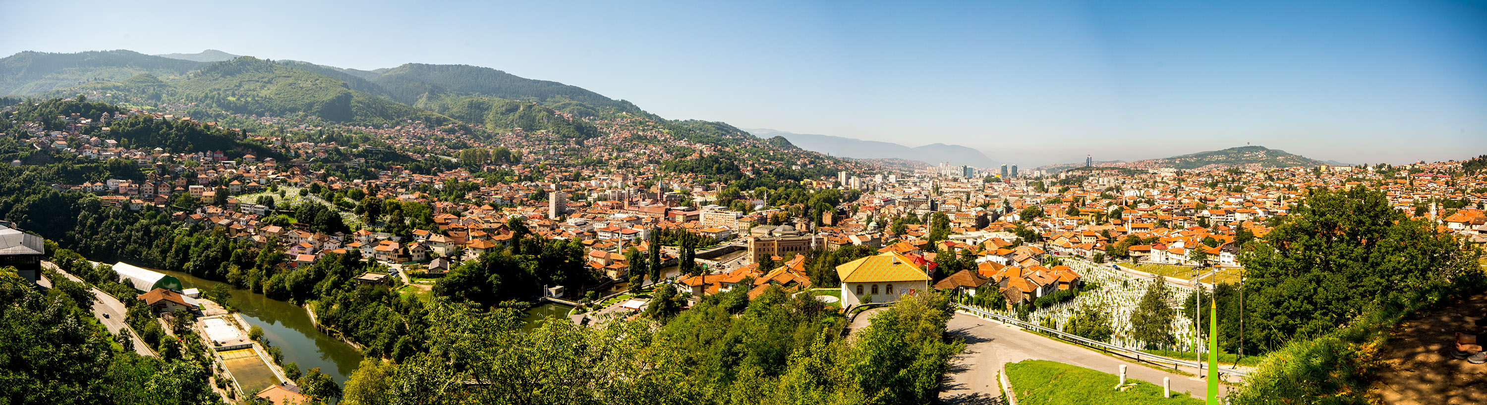 Sarajevo from the Yellow Fortress