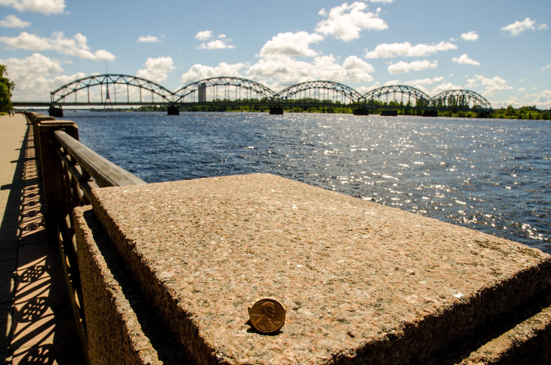 Daugava River, Riga, Latvia