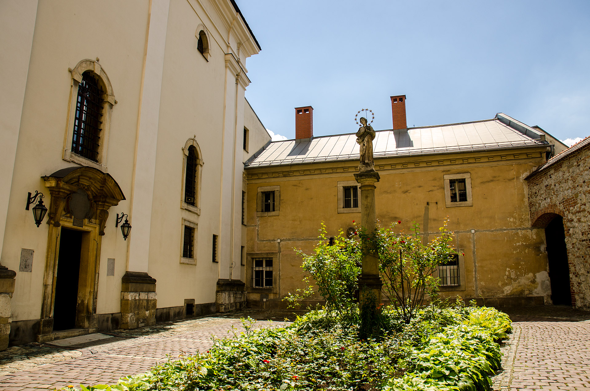 Dominican courtyard (Nuns of the Order of Preachers)