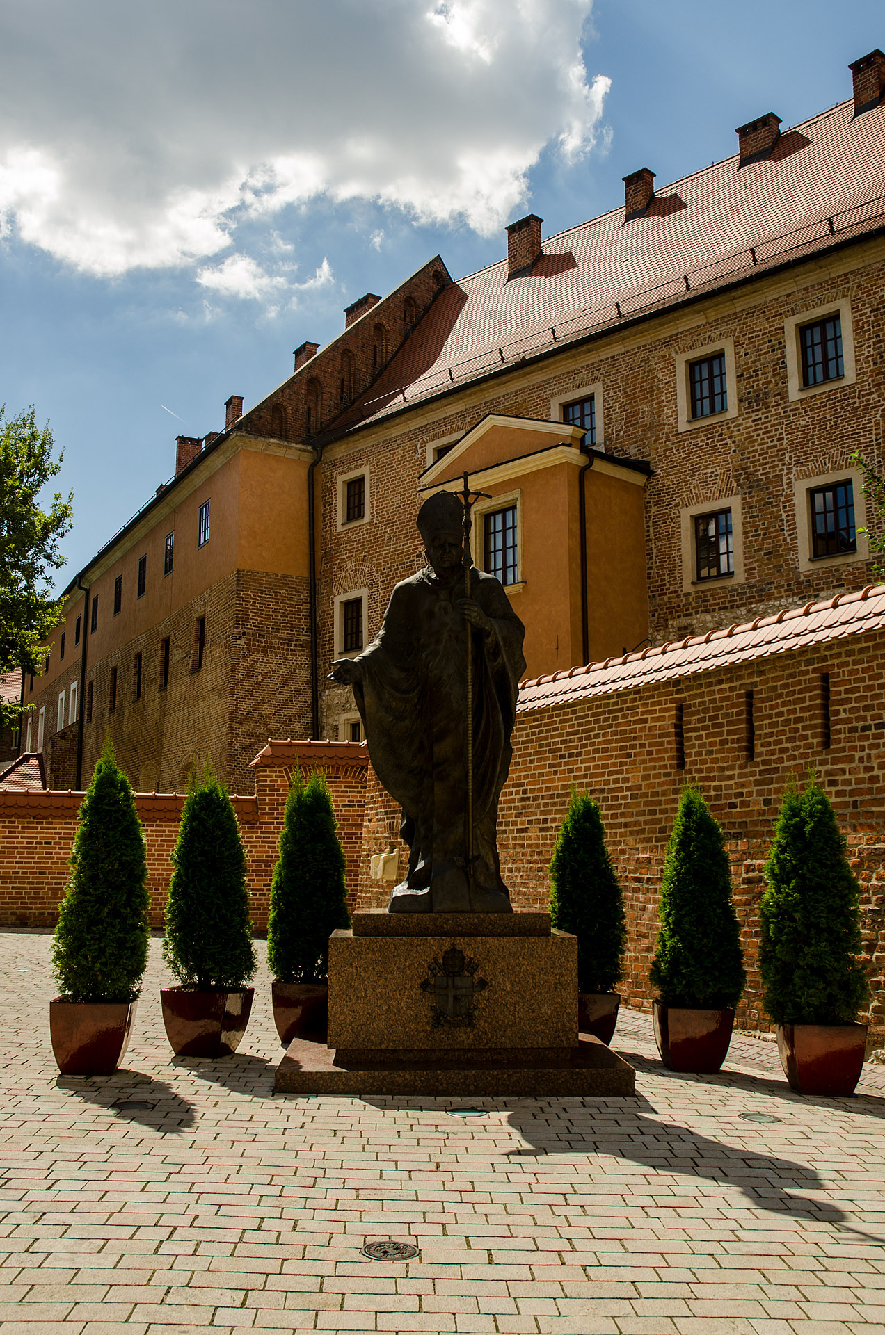 Statue of Pope John Paul II