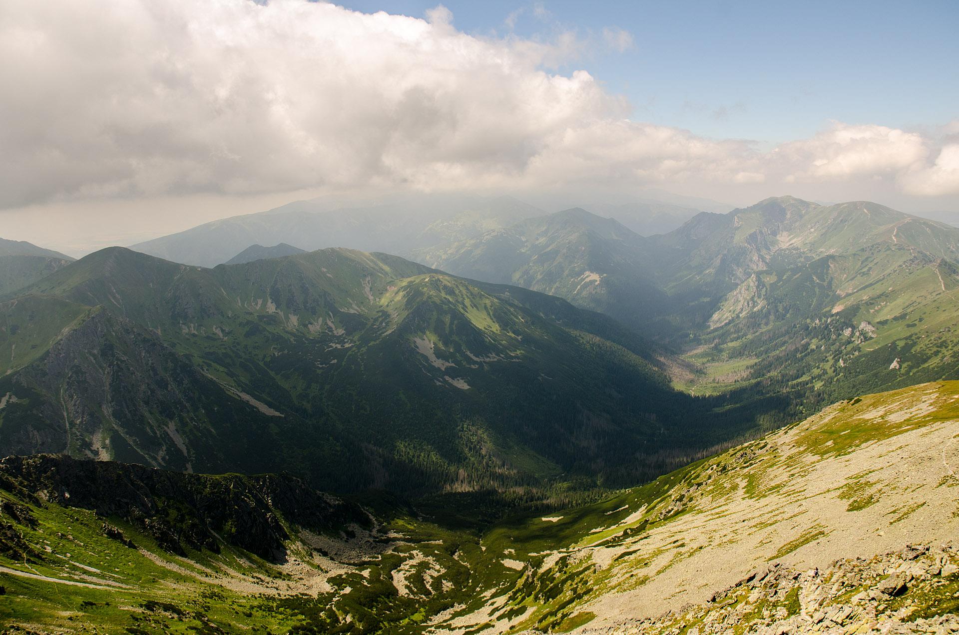 Ticha Dolina ('Silent Valley') & Slovakian Tatras