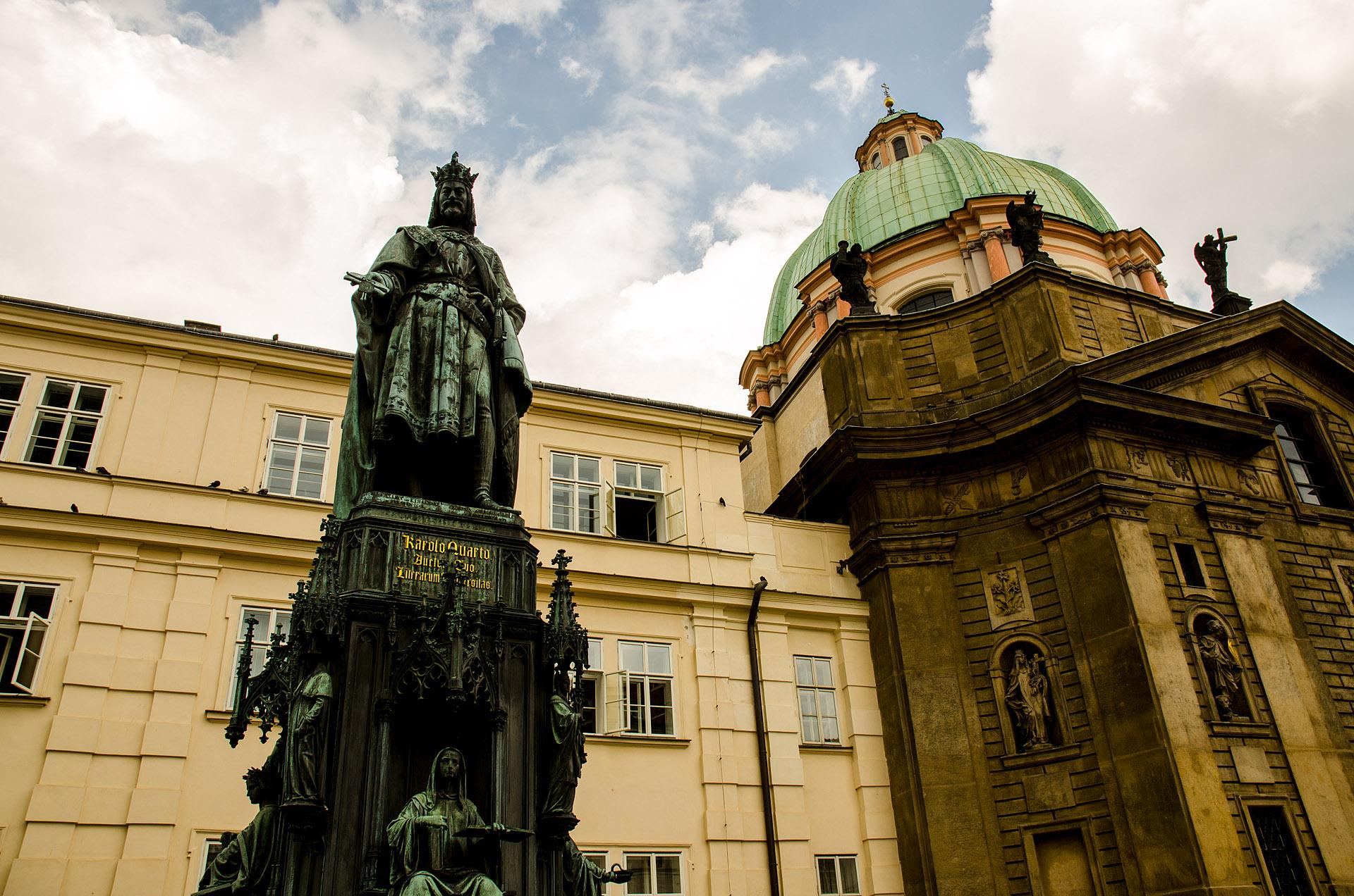 Charles IV Monument