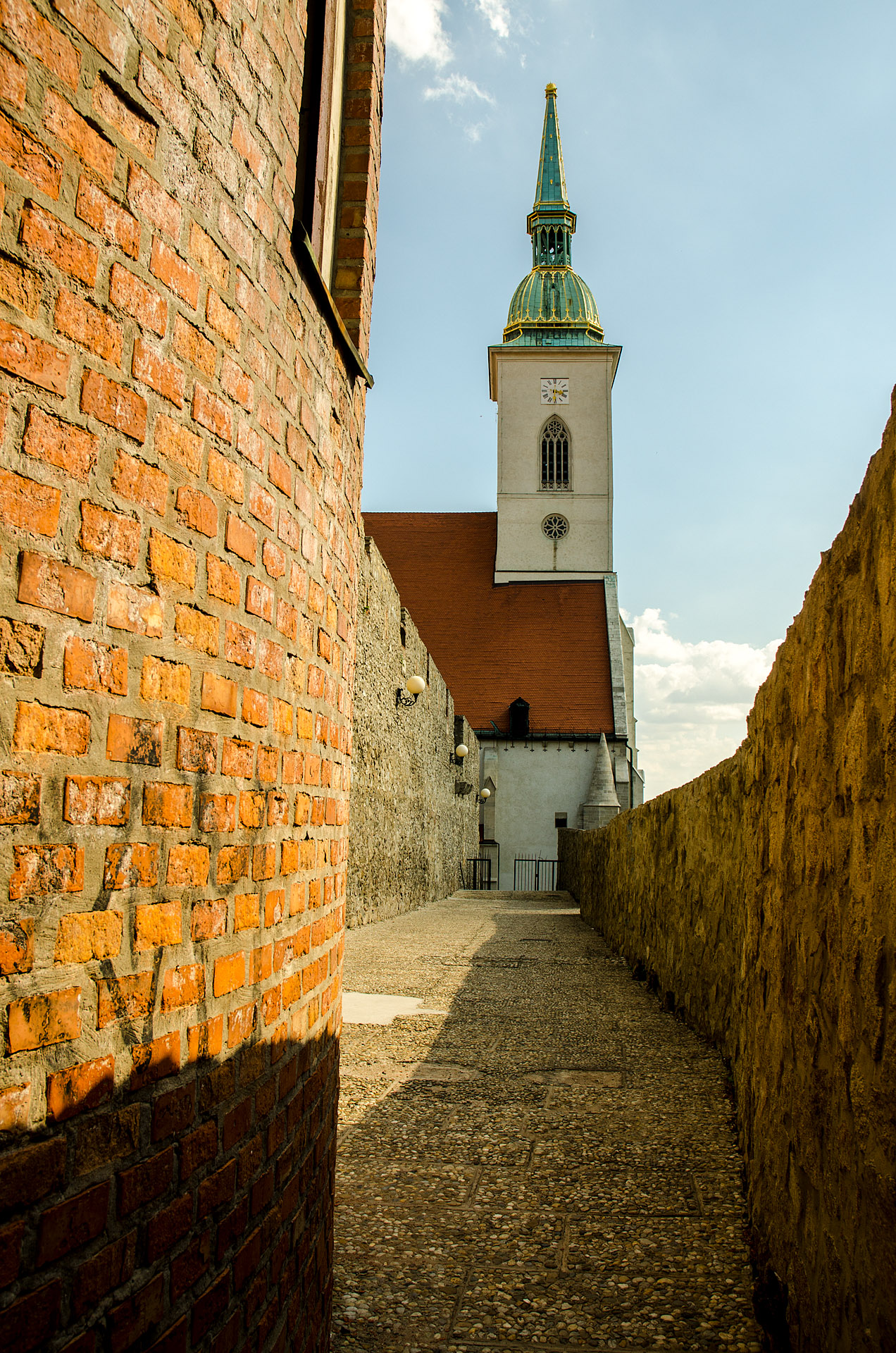 City Walls & St. Martin's Cathedral
