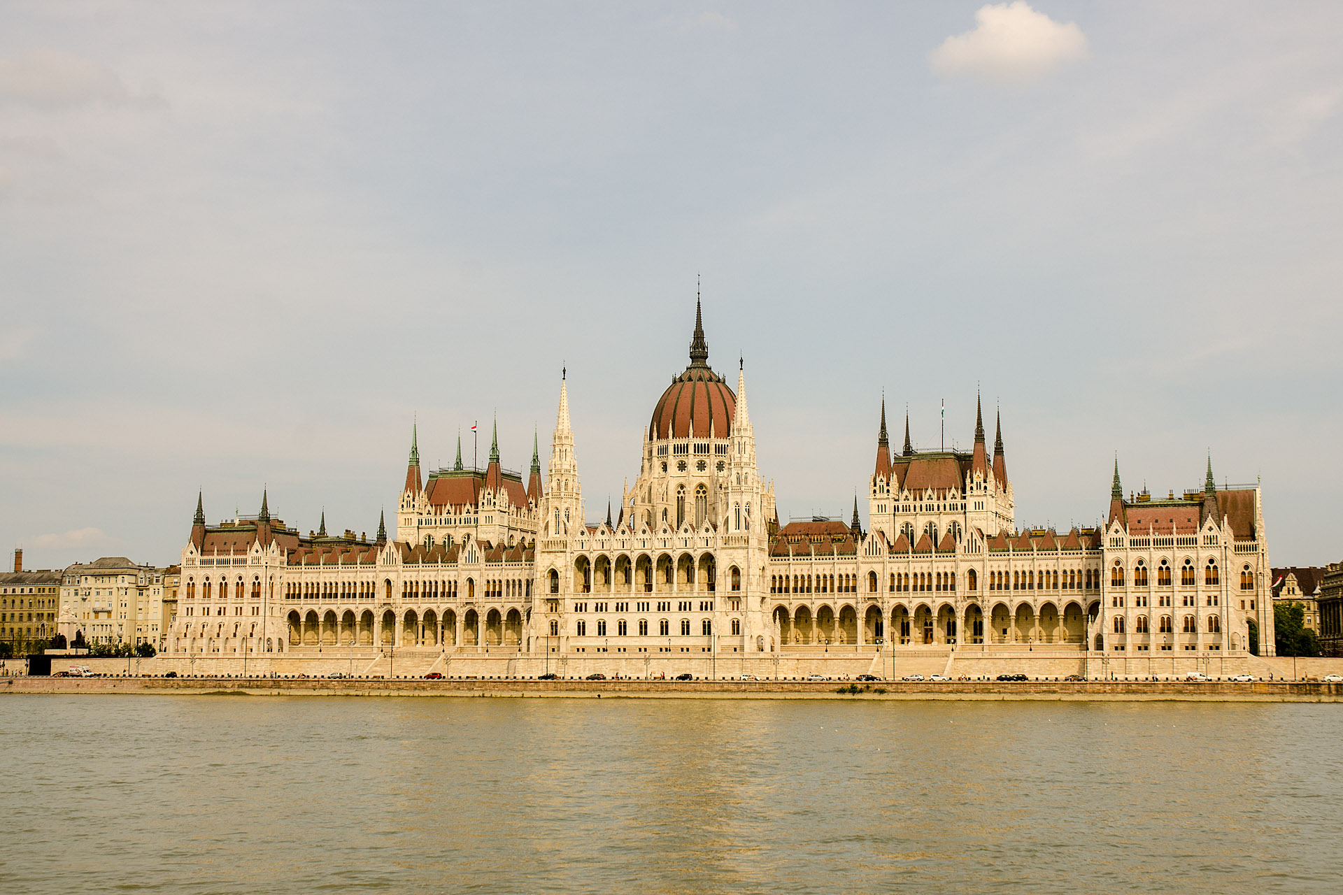 Hungarian Parliament Building (from Buda)