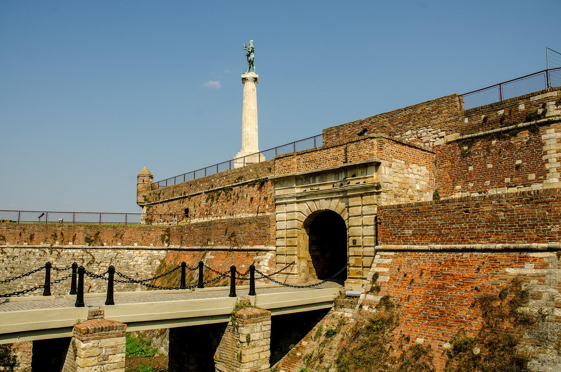 Pobednik ('The Victor' monument)