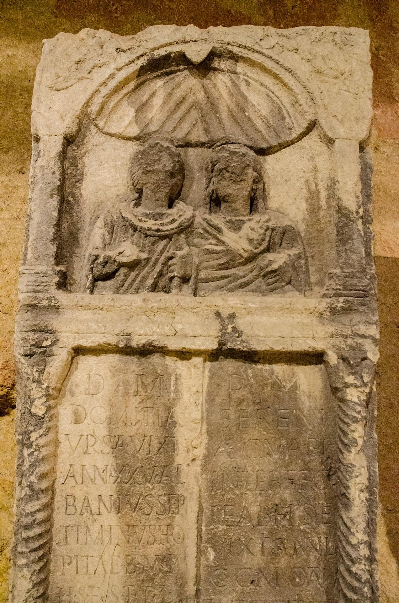 2nd century stele