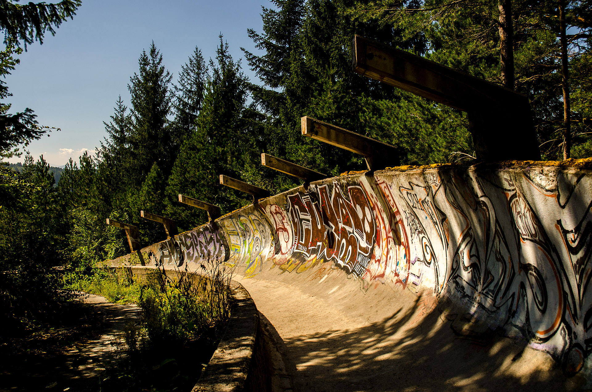 1984 Olympic bobsled course