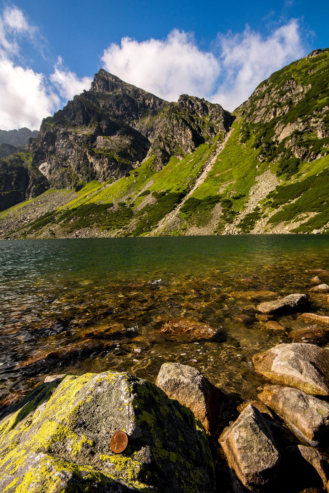 Czarny Staw Gasienicowy, Tatra National Park, Poland