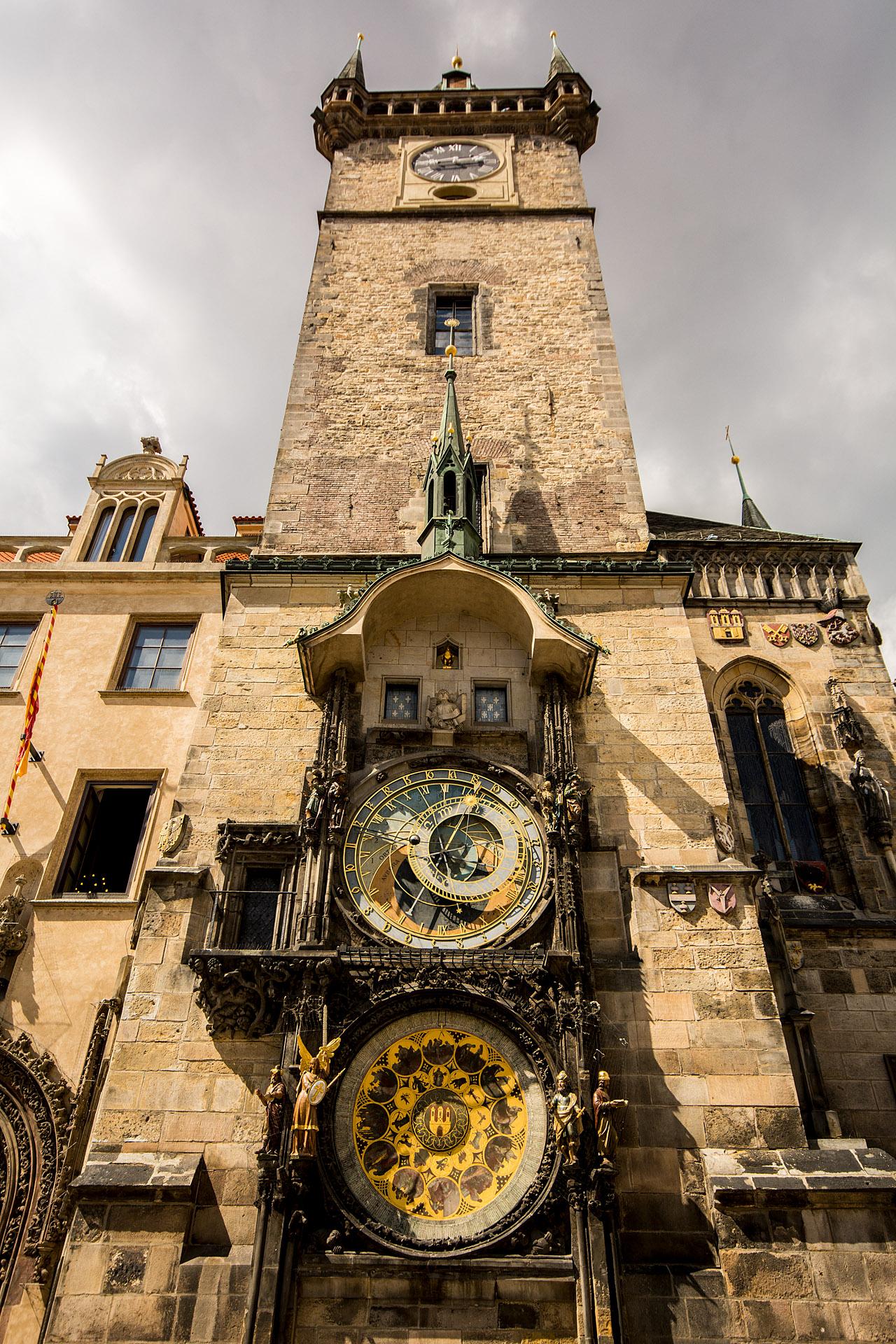 The Orloj (astronomical clock)
