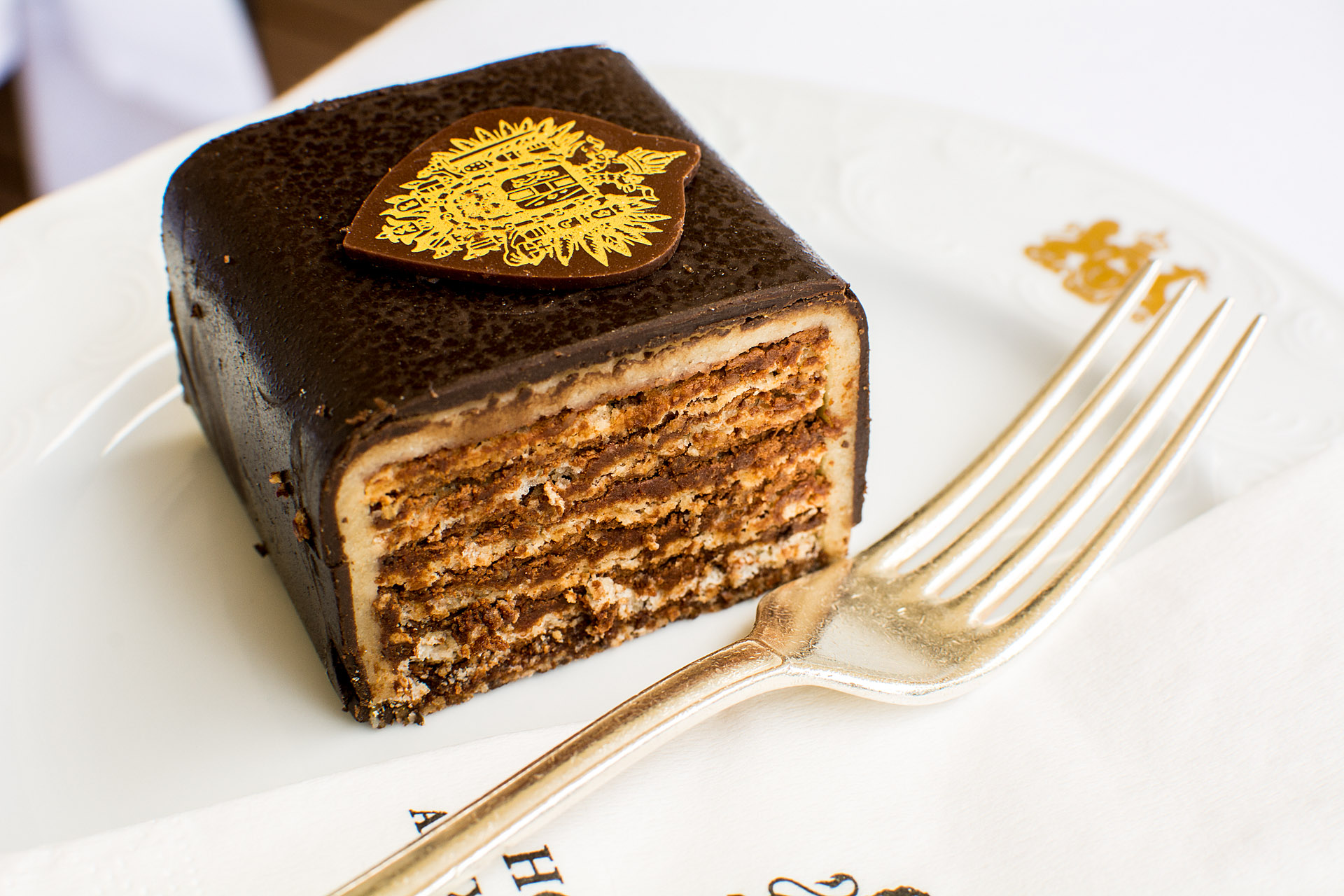 Imperial Torte (coffee & orange version)