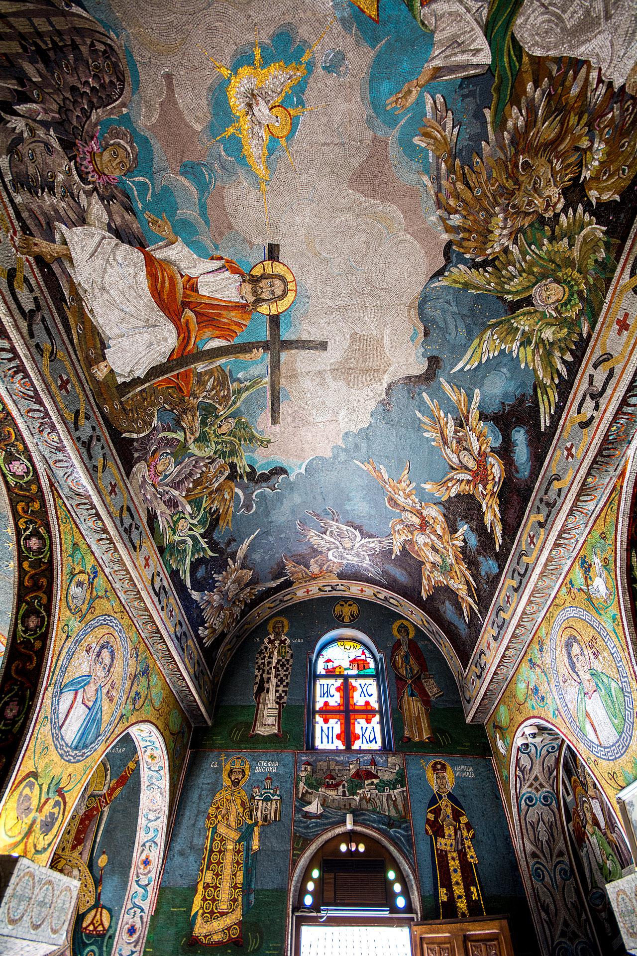 St. Petka's Chapel (interior)