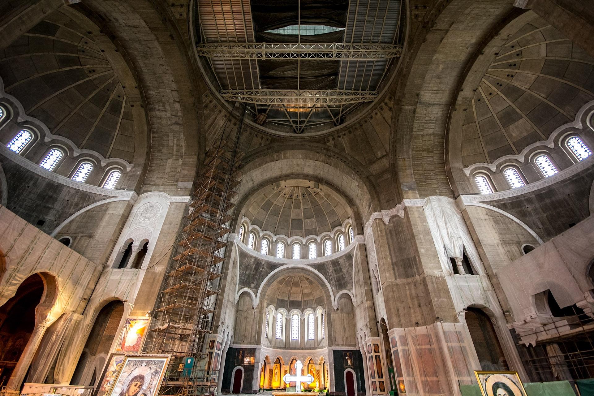 Church of St. Sava (interior)