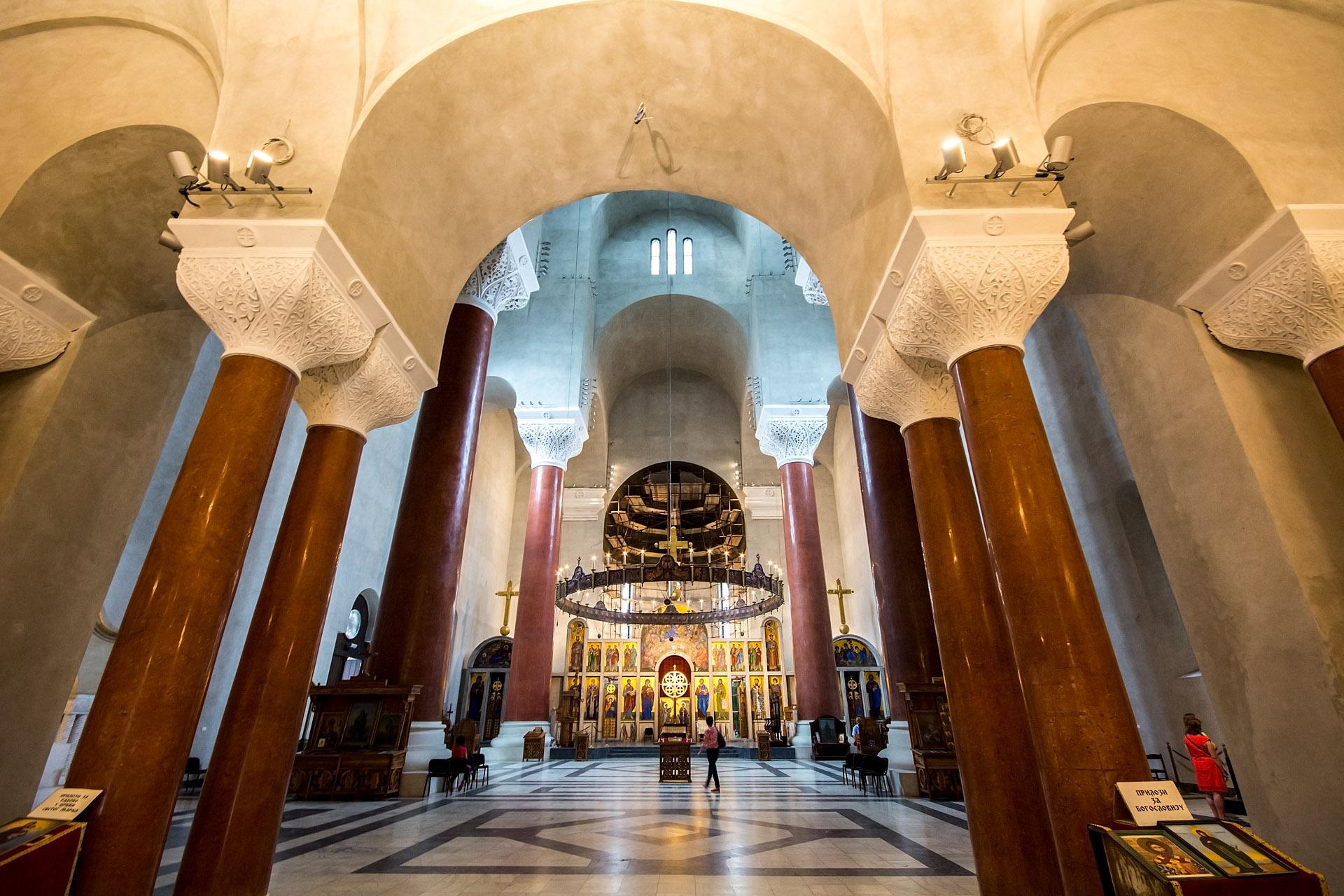 St. Mark's (interior)