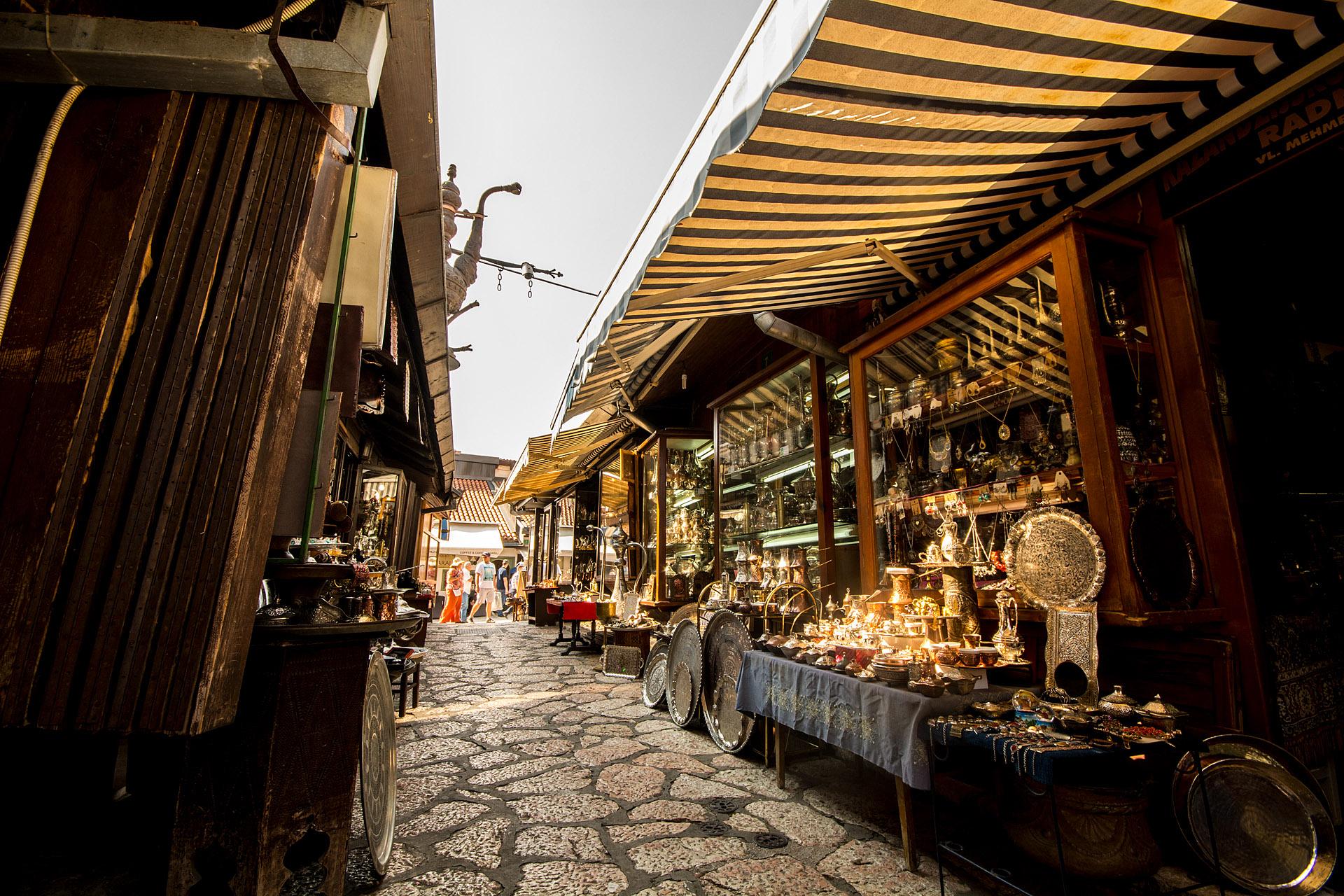 Bascarsija ('Old Bazaar')